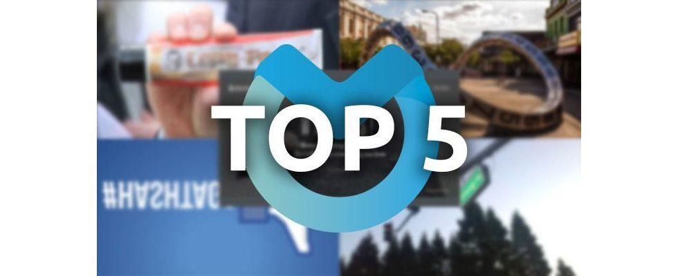 Kreative Fehlerseiten, SEO-URLs und unnötige Hashtags: Unsere Top-Themen der vergangenen Woche