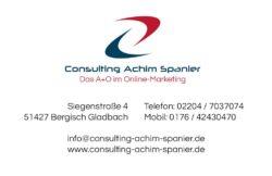 Consulting Achim Spanier