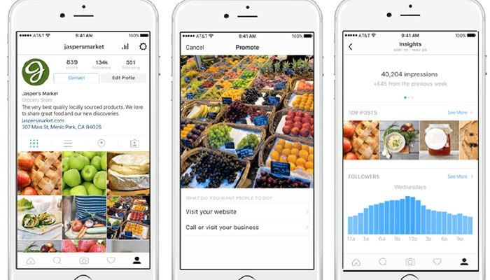 Instagram Detail: Instagram Business Profile: Alle Neuen Features Für