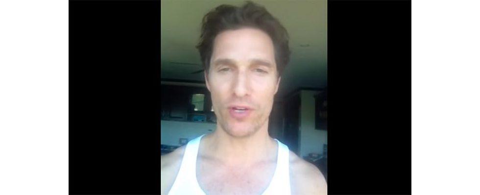 Matthew McConaughey hat den kleinsten (YouTube-Kanal): Warum das nicht seine Schuld ist