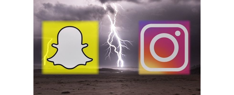 2 Wochen nach dem Rollout: Sind Instagram Stories tatsächlich eine Bedrohung für Snapchat?