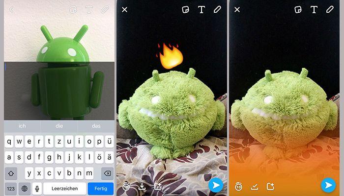 Snapchat flammen ändern