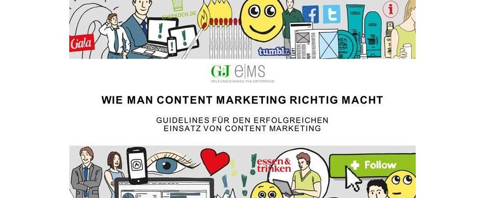 Wie man Content Marketing richtig macht – Sieben Guidelines