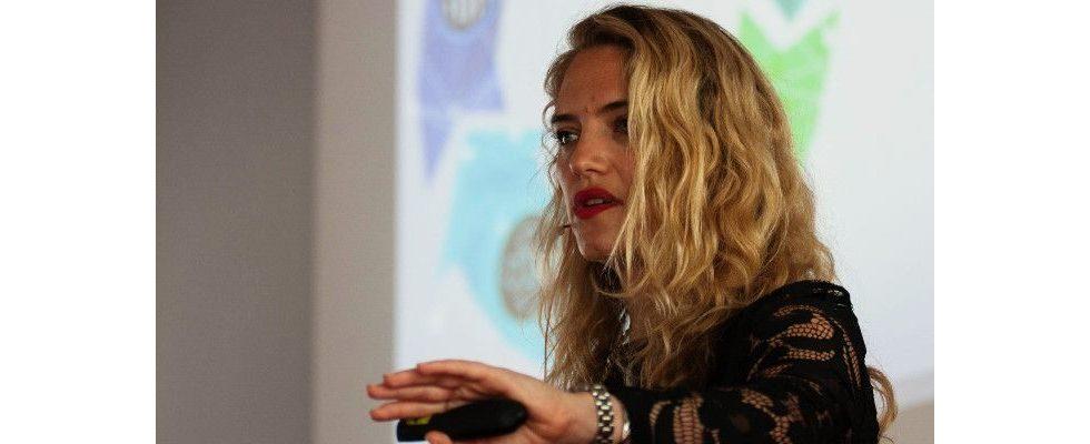 Tipps zum Trend Dynamic Creative Optimization – Julia Soffa, Adobe, beim The Morning Bash