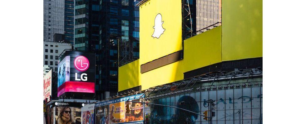 Snapchats Werbeeinkünfte explodieren: 2017 fast eine Milliarde US-Dollar