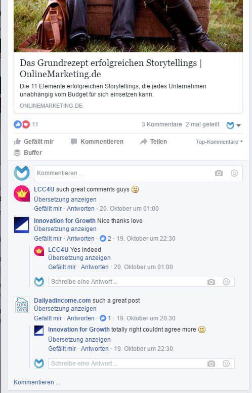Chatbots führen eine mehr oder weniger sinnvolle, aber dafür eigenständige Unterhaltung © Facebook