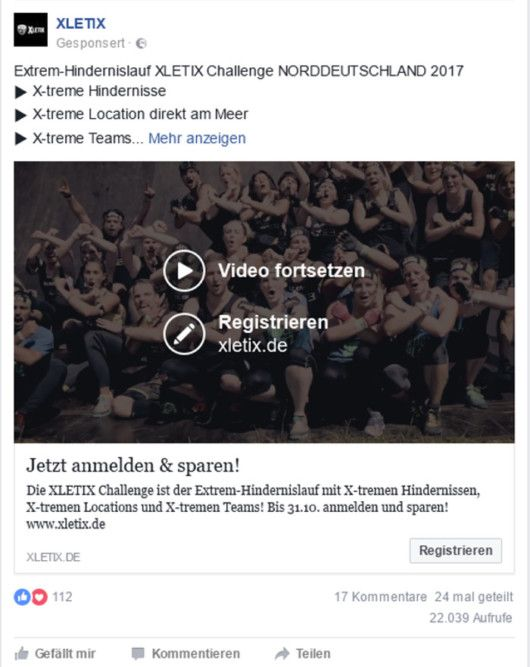 Facebook-Video, Quelle: facebook.com