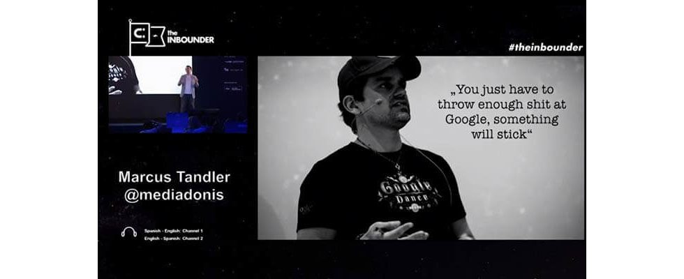 """Marcus Tandler Keynote """"Welcome to reality"""": 301 Slides in 42 Minuten"""