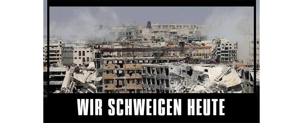 Vermarktungspause: Stern.de schweigt heute für Syrien