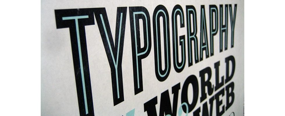 Wie du Typographie geschickt als Marketing-Instrument einsetzt