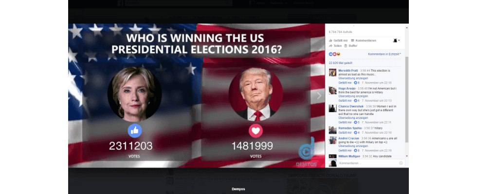 Facebook Live: Umfragen sorgen für hohes Engagement und extreme Reichweiten