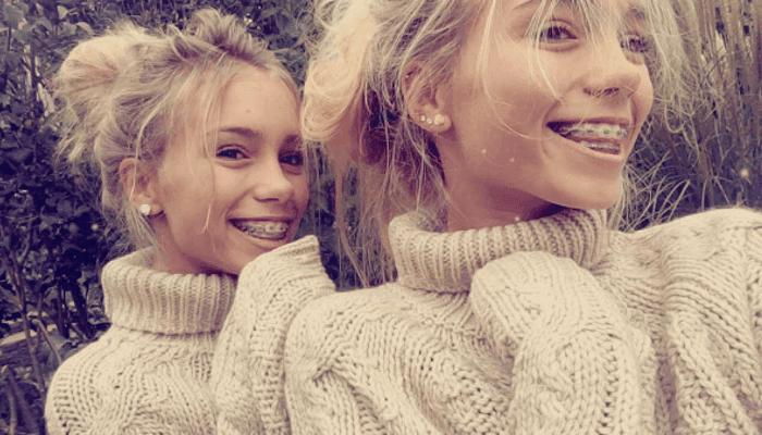Wenn es nach Follower-Wachstum ginge. wären sie auf Platz eins: die Zwillinge Lisa und Lena   Foto: lisaandlena - Instagram