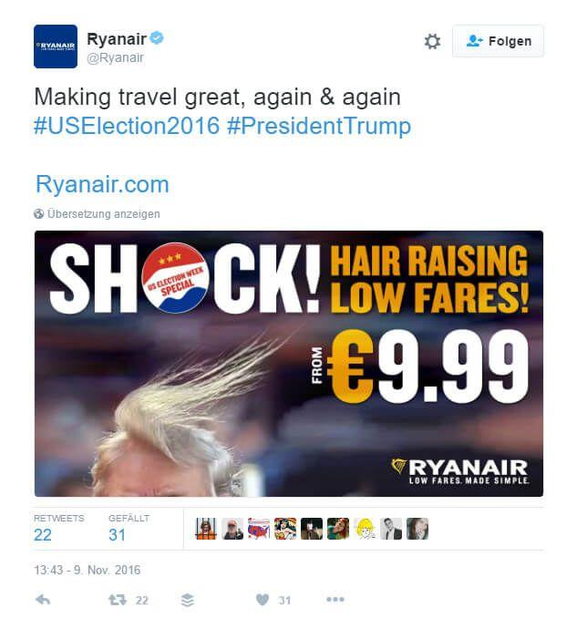 © Ryanair via Twitter