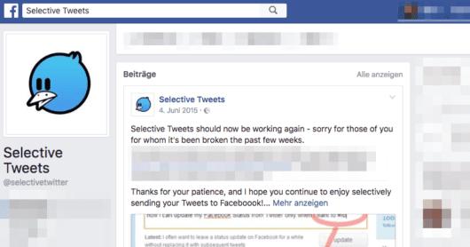 Cross Posting ist nicht okay, wenn man keine Variationen macht und den gleichen Content zur gleichen Zeit verbreitet. Quelle: Facebook