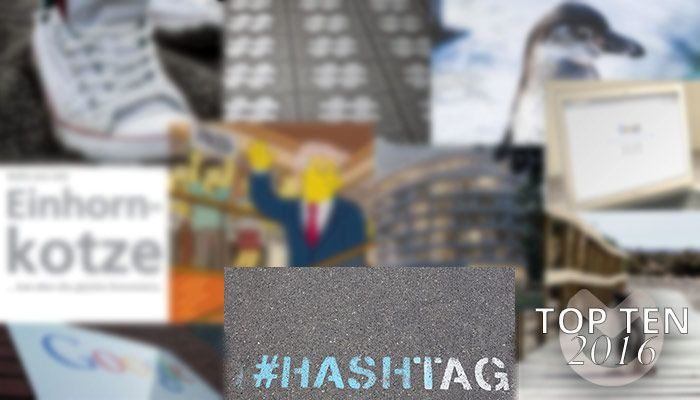 Top Ten 2016: Platz 1 – Für höhere Reichweiten: Das sind die aktuellen Top Hashtags auf Instagram
