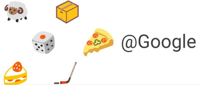 Möglichkeiten für Emoji-Eingaben bei Googles Twitter-Account, Quelle: Screenshot twitter.com