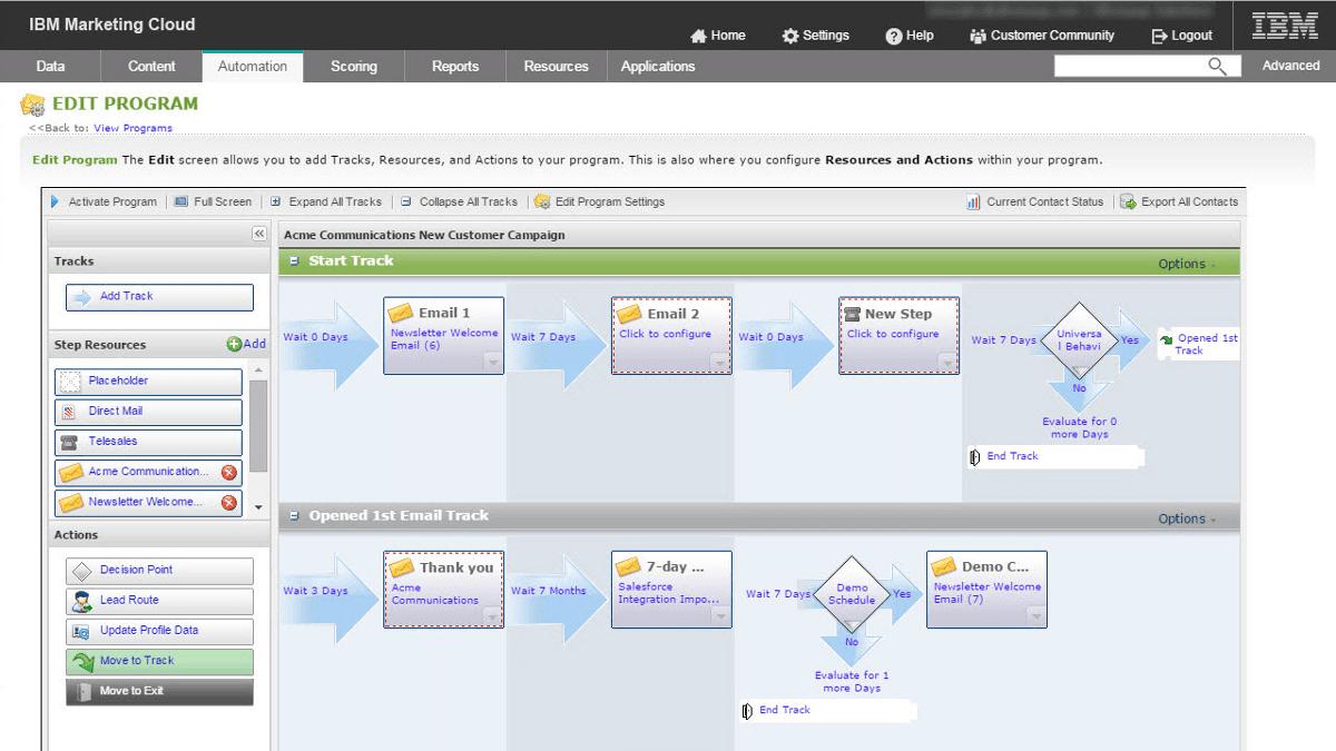 Marketing Automation mit der IBM Marketing Cloud