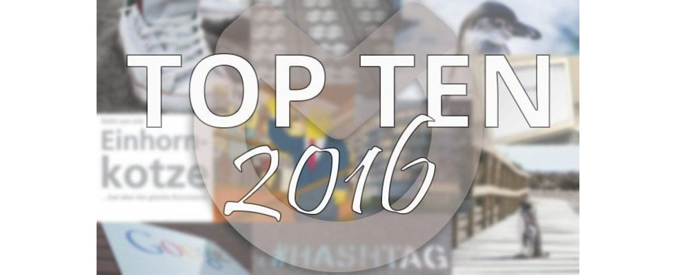Unsere Top Ten des Jahres: Das sind die meistgelesenen Artikel 2016