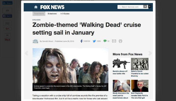 """Beispiel für häufig geteilten Content; hier: Anspielung auf das international beliebte """"The Walking Dead"""" Quelle: buzssomu.com"""