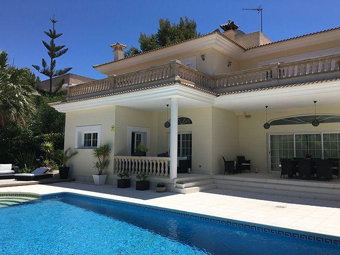 Die Villa auf Mallorca, die conntentbird für einen Firmenurlaub genutzt hat.