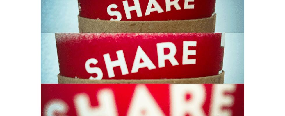 Content Marketing: Shares allein machen auch nicht glücklich