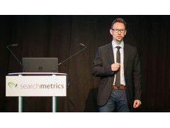Marcus Tober auf dem Searchmetrics Summit 2016 in München.
