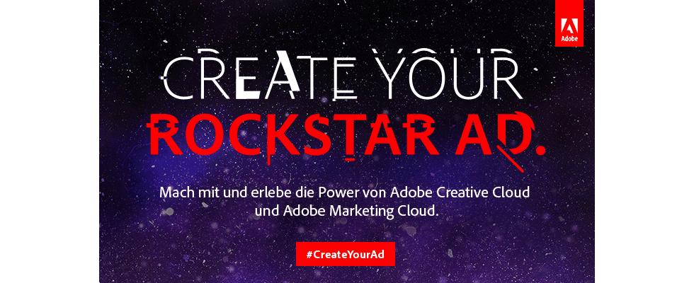Create your Rockstar Ad – Adobe live bei den Online Marketing Rockstars 2017