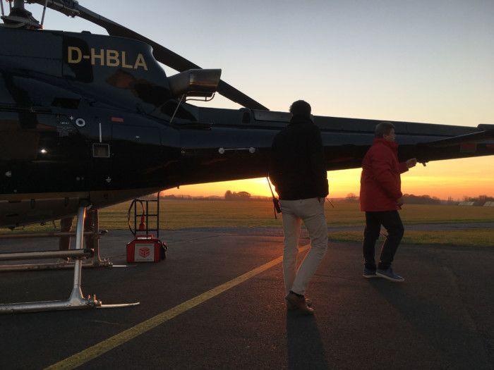 air4you Hubschrauber Filmflug