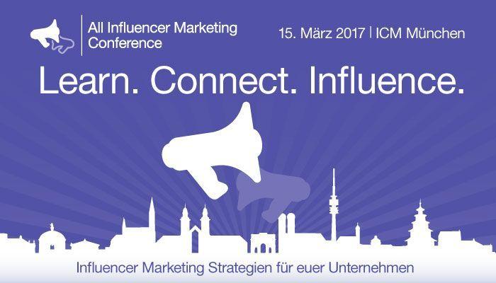 Learn, Connect, Influence - auf der AIMC München 2017