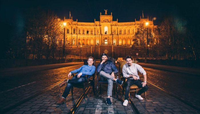 Das Geheimtipp München Team: Roman Rackwitz, Oliver Rothstein und Thomas Tomski