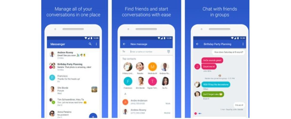 Android Messages: Googles neue Messenger App vereinfacht Marketing