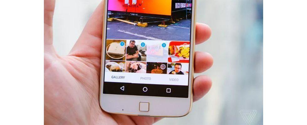 Bildergalerie auf Instagram: Mehrere Bilder und Videos in nur einem Post