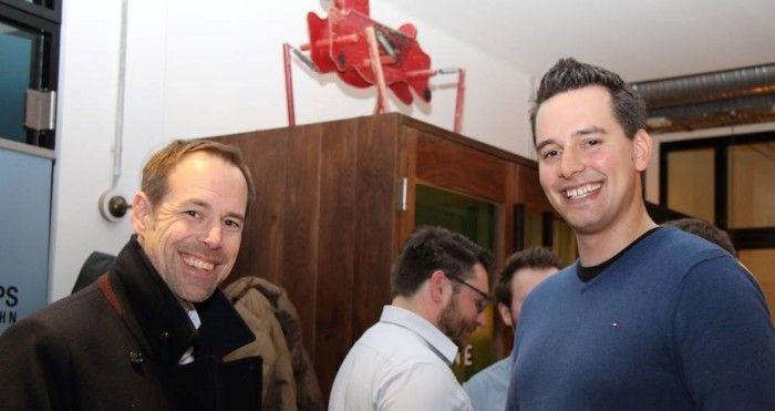 Felix Gessert mit Investor Jens Schumann