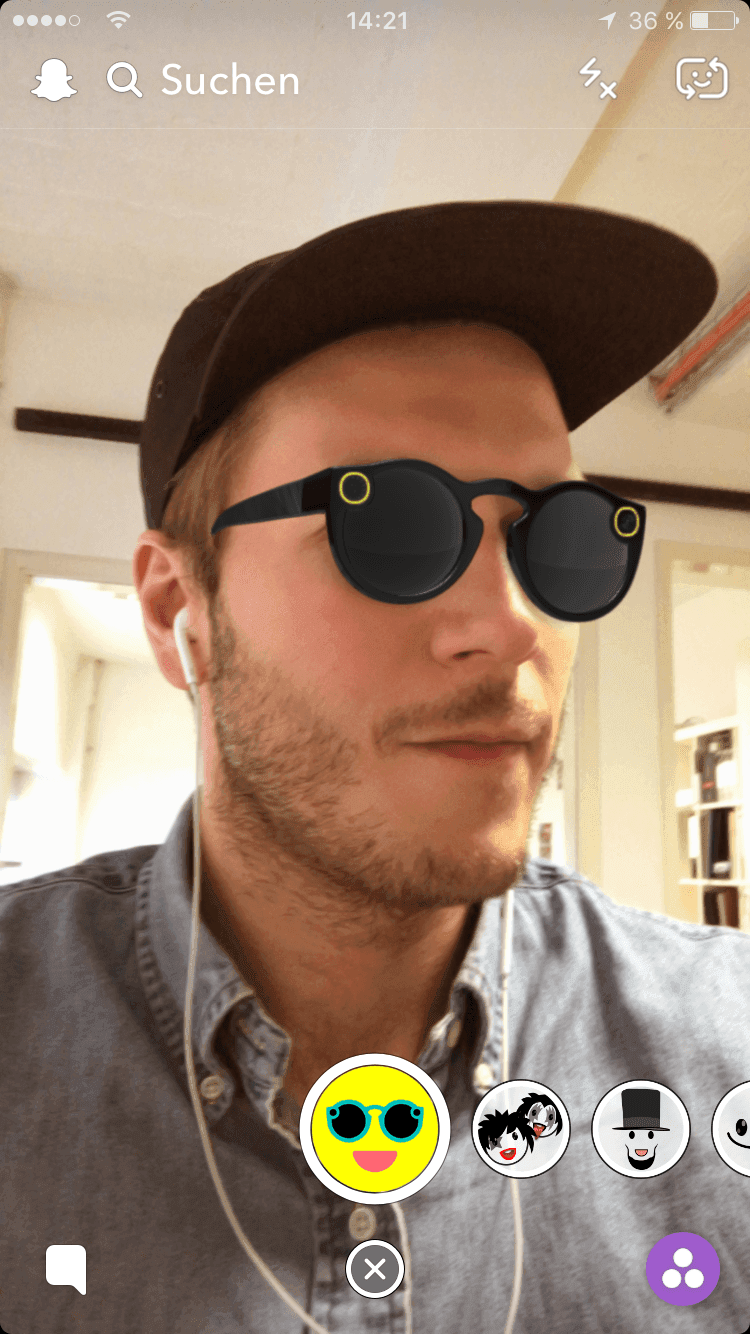 Spectacles in Augmented Reality