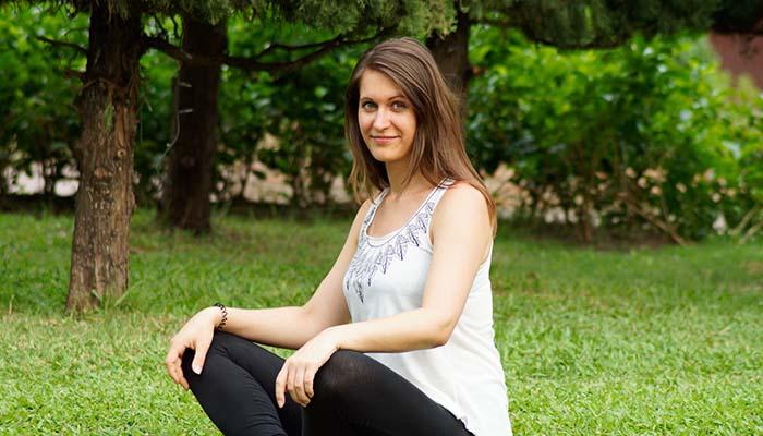 Nadine Mandrella fürhrt als Freelancerin und Digitale Nomaden ein selbstbestimmtes Leben.