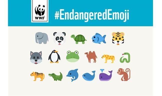 WWF Emojis bedrohter Tierarten, Screenshot SEOPressor