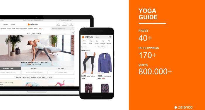 Zahlen zum Zalando Yoga Guide, © Norman Nielsen