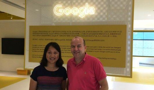 Karl Krainer ist beruflich mehrmals im Jahr in China unterwegs und den neusten Innovationen auf der Spur. Auch im neuen Google-Office in Peking war er schon