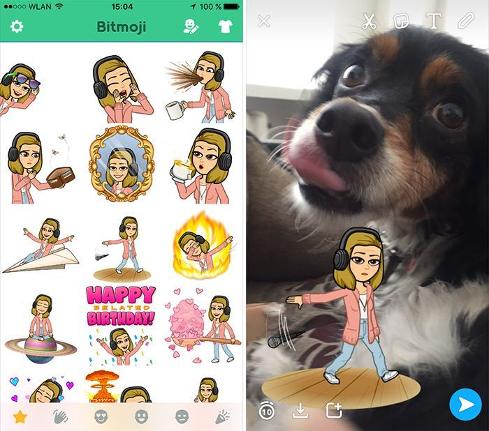 vergiss pok mon go instagram tinder bitmoji ist eine der erfolgreichsten apps 2016. Black Bedroom Furniture Sets. Home Design Ideas