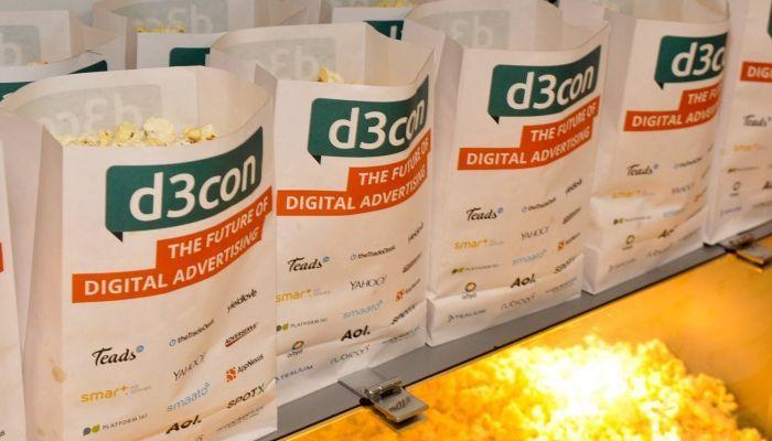 Popcorn im d3con-Kino