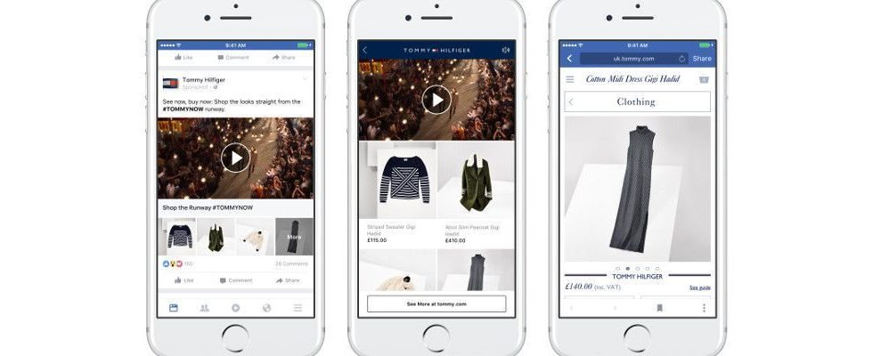 Neues Facebook Werbeformat Collection: Bis zu 50 Artikel mit Video in einer mobilen Ad