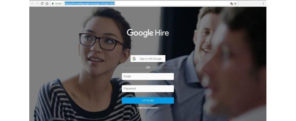 Google Hire: Wird Google den Jobmarkt auf den Kopf stellen?