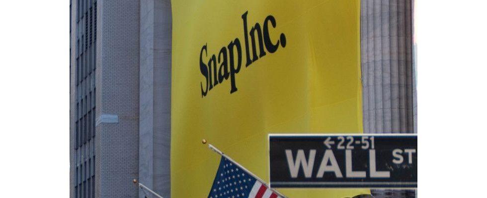 Milliardenverluste für Snap: Führt der Weg an der Börse bergab?