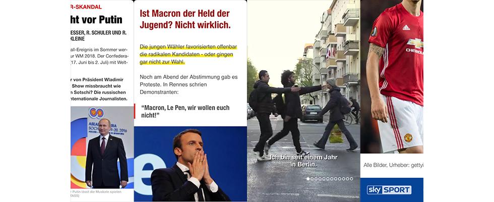 Mit Spiegel Online, Vice, Sky SPORT & Bild: Snapchat Discover startet in Deutschland
