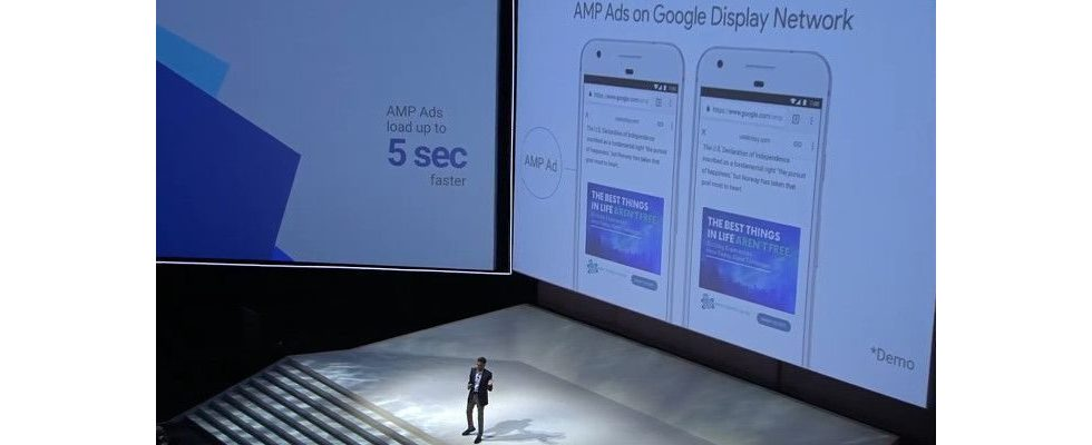 AdWords Update: Google beschleunigt Display und Search Ads mit AMP