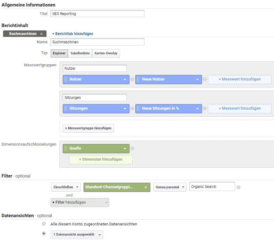 Google Analytics Hands-On: Personalisierte Berichte erstellen ...