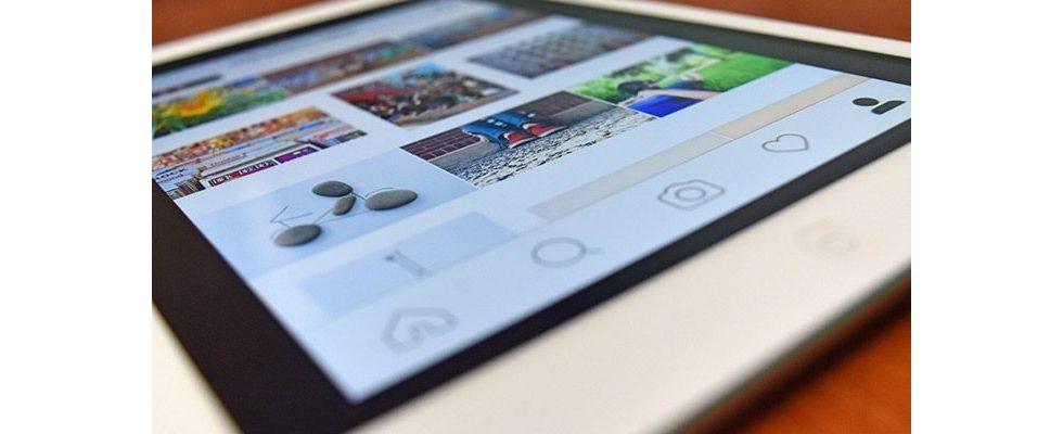 Instagram: Fotoupload nun auch vom mobilen Browser möglich