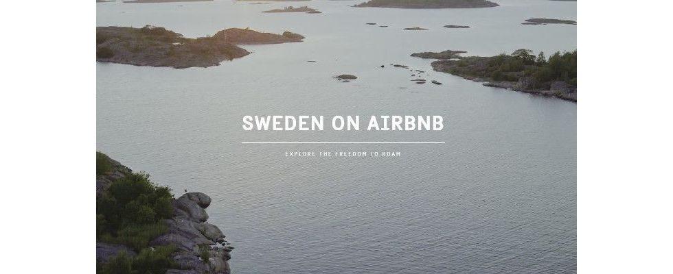 Naturgewaltiges Marketing: Ganz Schweden ist auf Airbnb gelistet