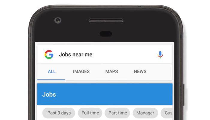google deinen neuen arbeitsplatz google jobs wird zur zentralen jobb rse. Black Bedroom Furniture Sets. Home Design Ideas