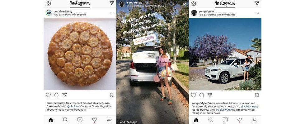 Mehr Transparenz auf allen Seiten: Instagram führt Kennzeichnung für Sponsored Posts ein